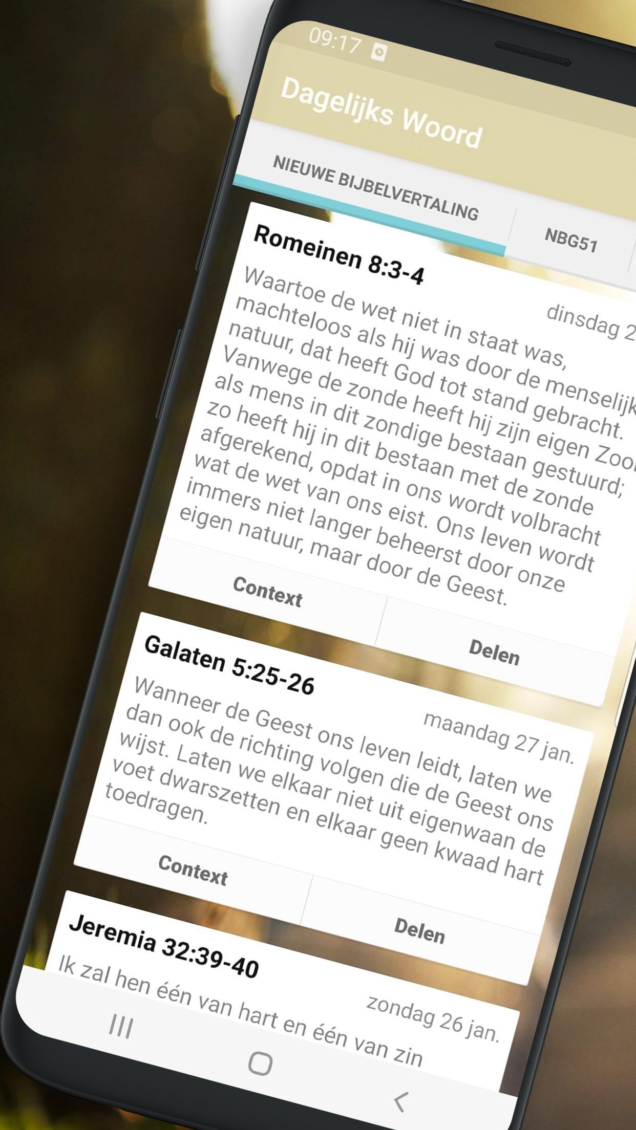 Dagelijks Woord 1.5.3 Screenshot 1