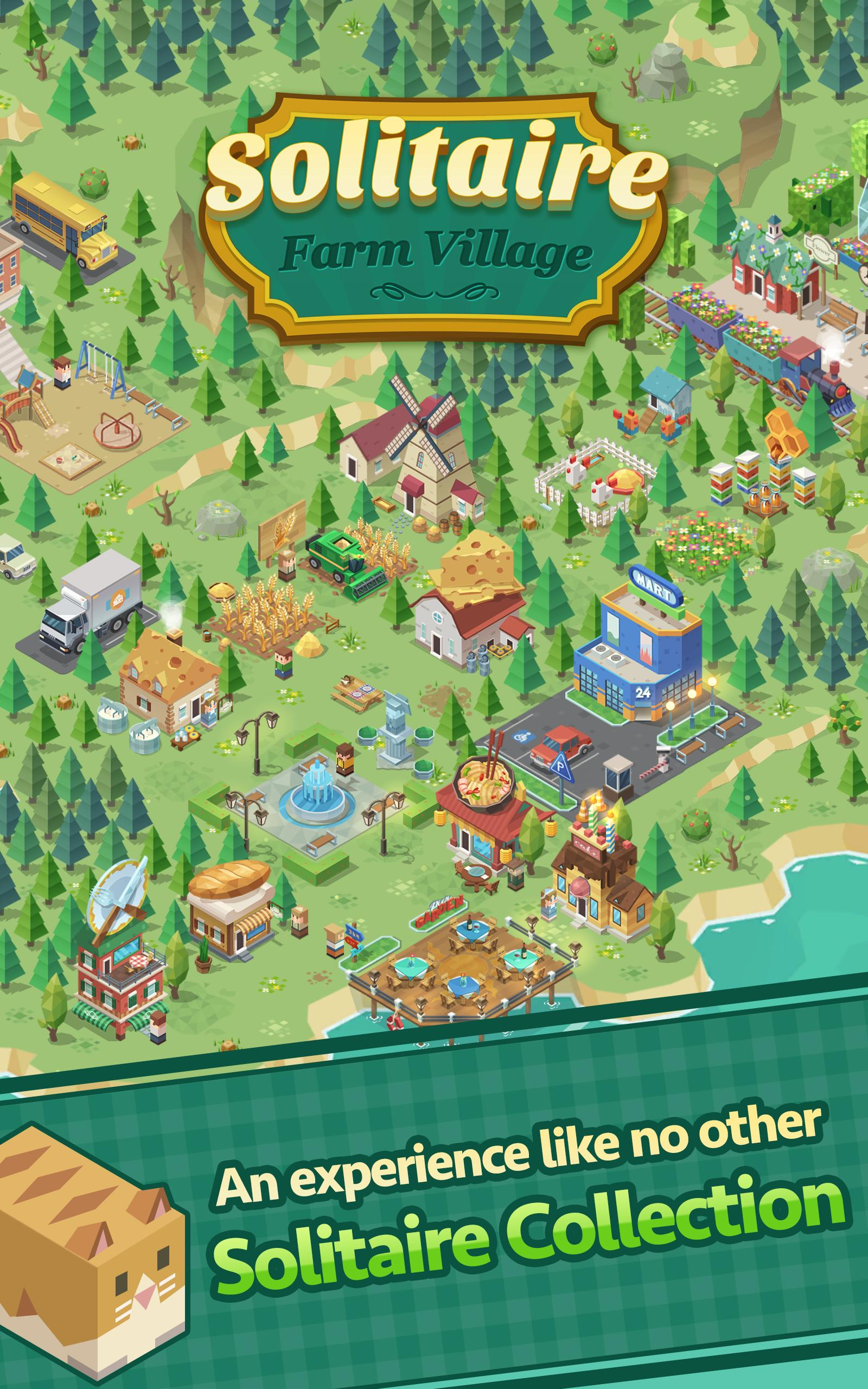 Solitaire Farm Village 1.6.0 Screenshot 1