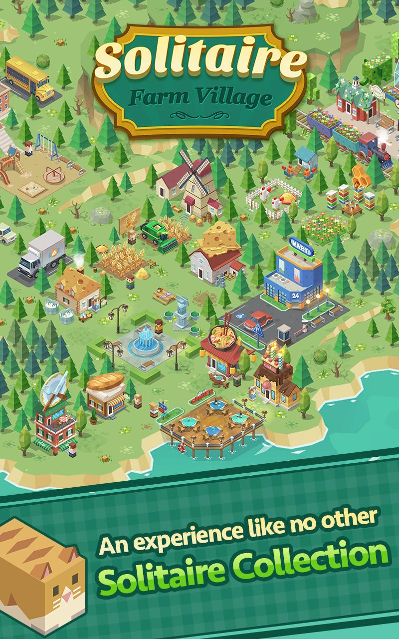 Solitaire Farm Village 1.6.0 Screenshot 8