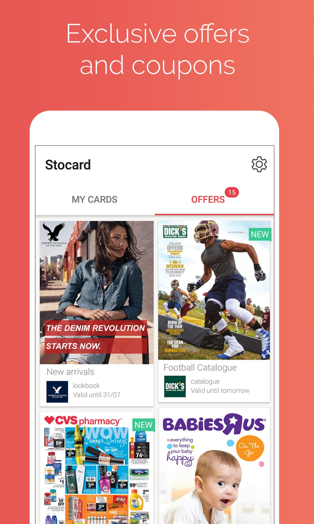 Stocard Rewards Cards Wallet 8.3.3 Screenshot 4