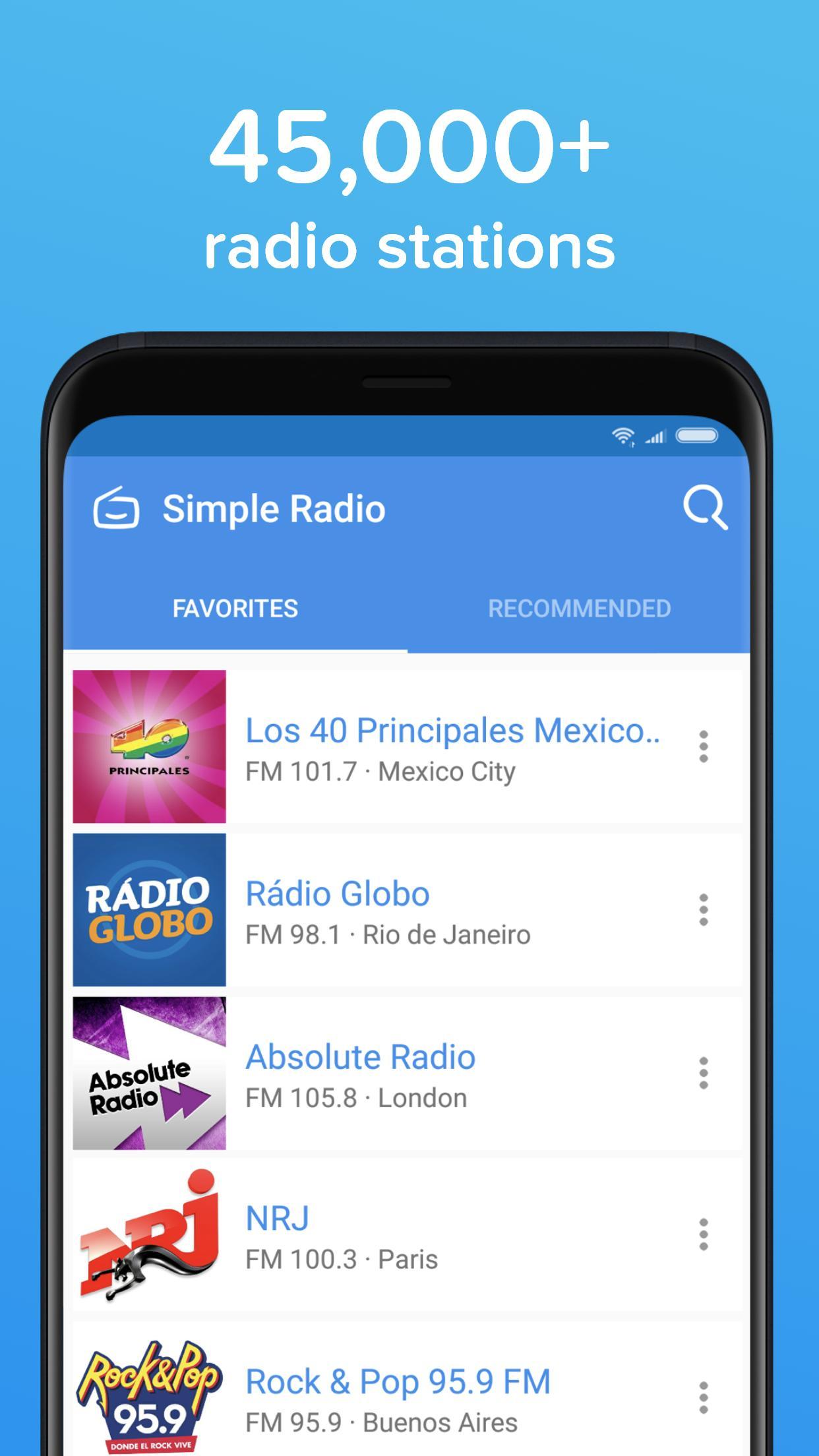 Simple Radio – Free Live AM FM Radio & Music App 2.8.7 Screenshot 4