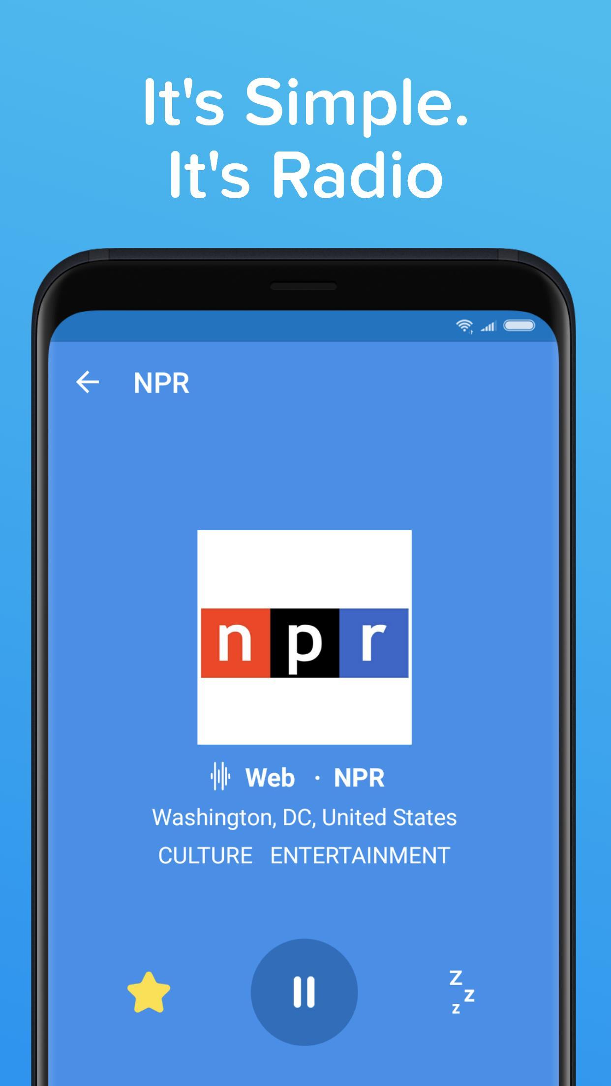 Simple Radio – Free Live AM FM Radio & Music App 2.8.7 Screenshot 5