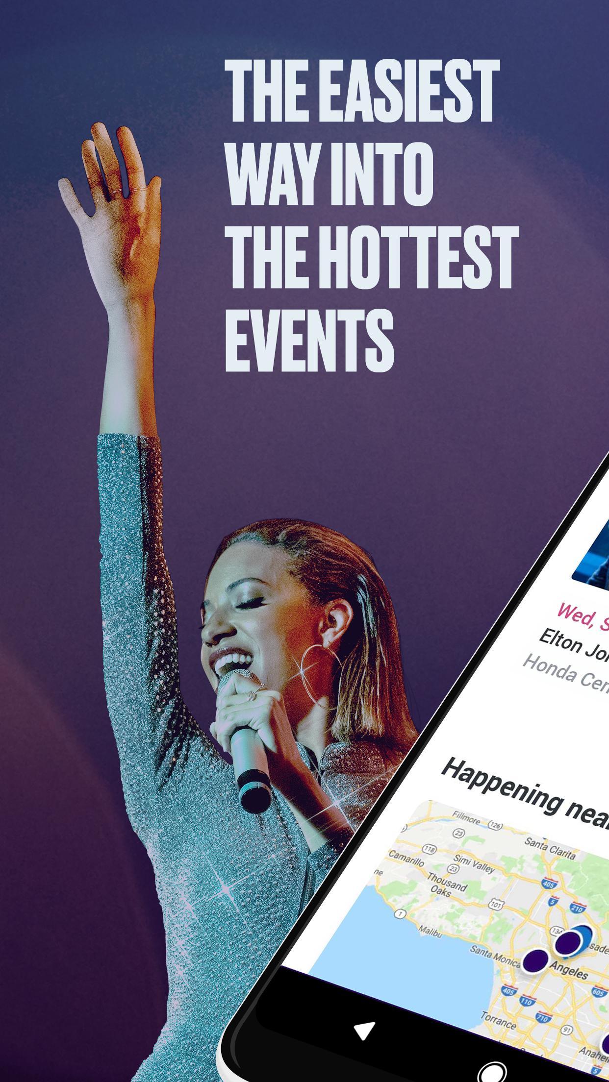 StubHub Live Event Tickets 8.2.0 Screenshot 1