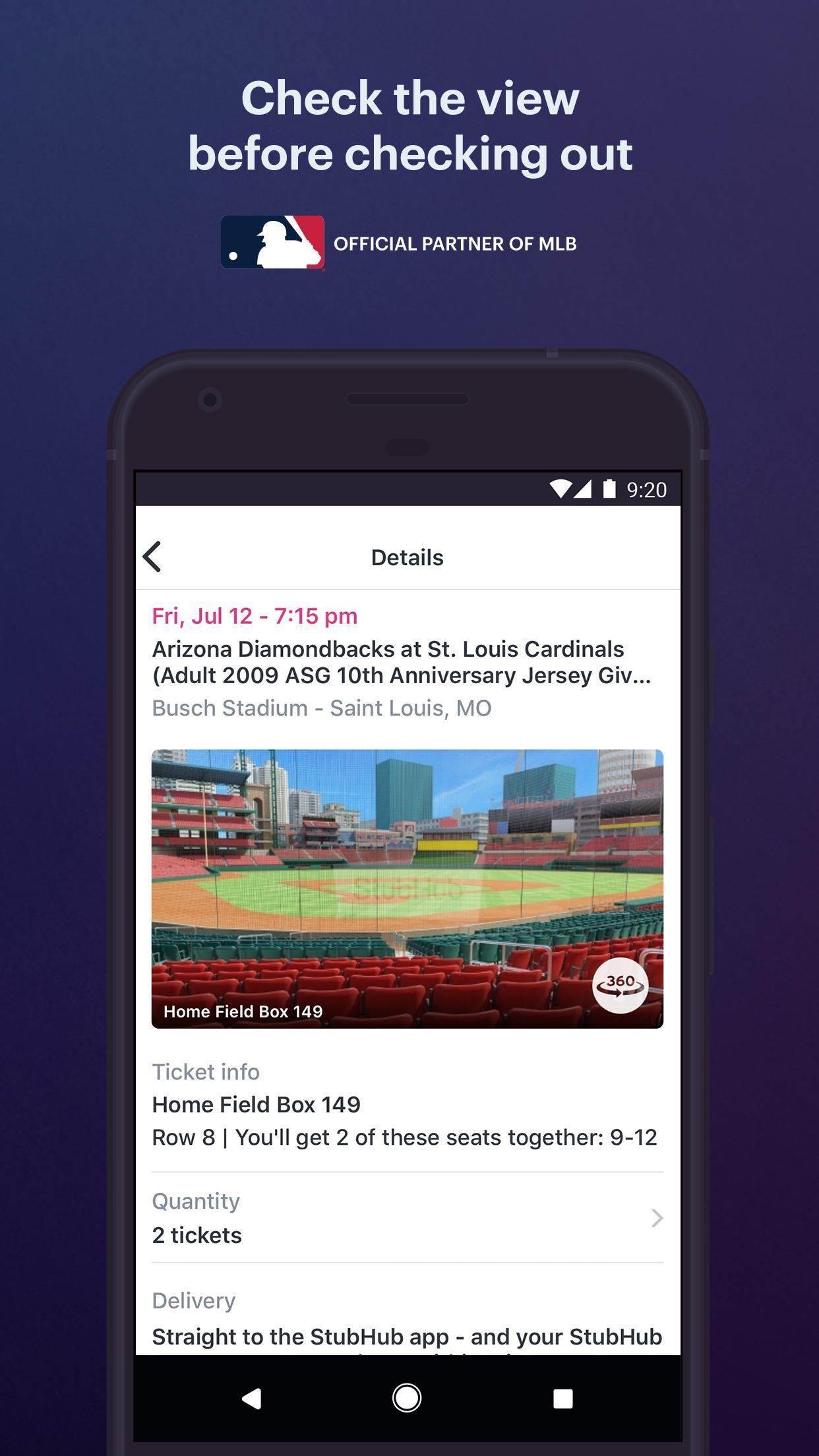 StubHub Live Event Tickets 8.2.0 Screenshot 3