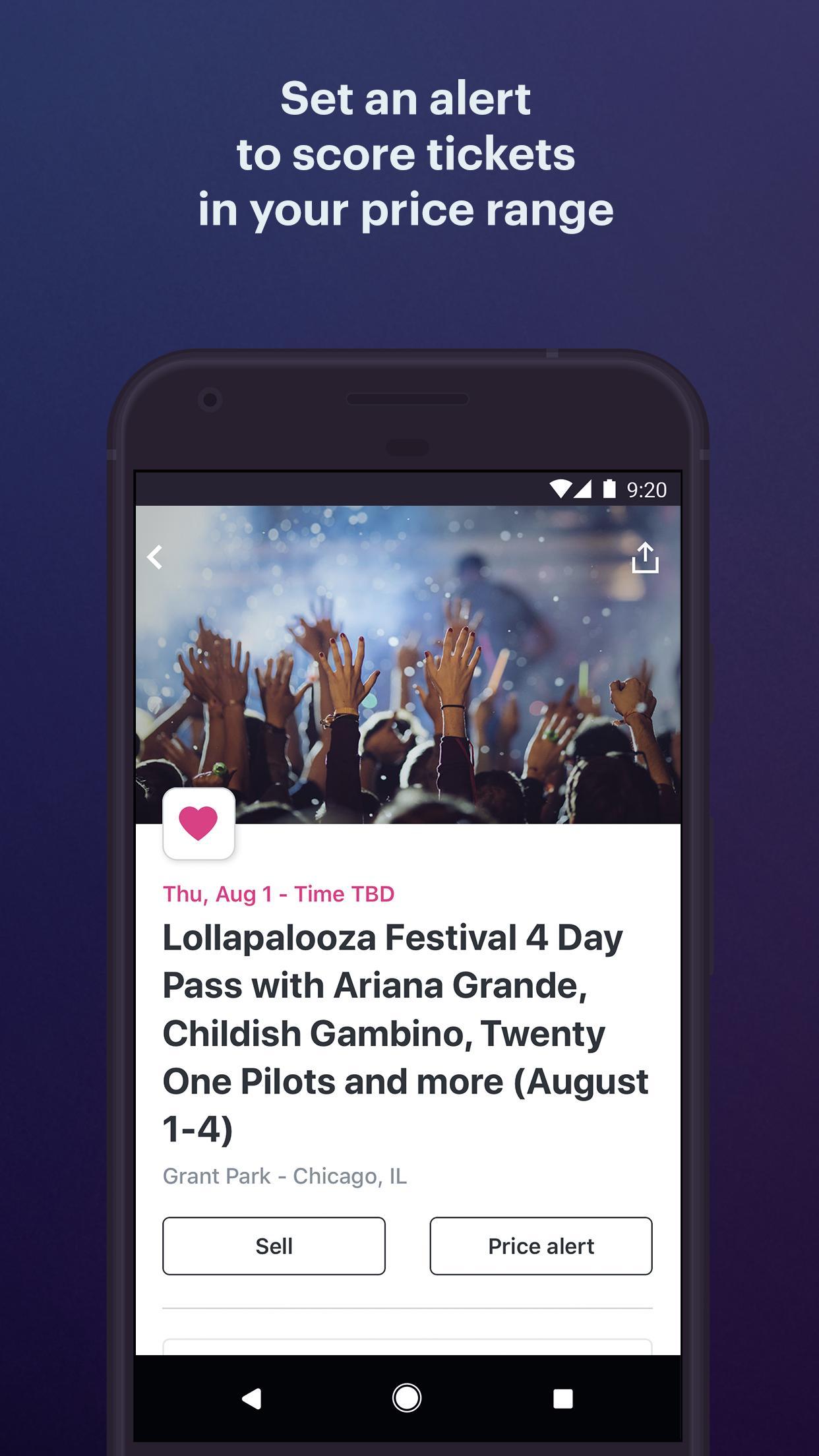 StubHub Live Event Tickets 8.2.0 Screenshot 4