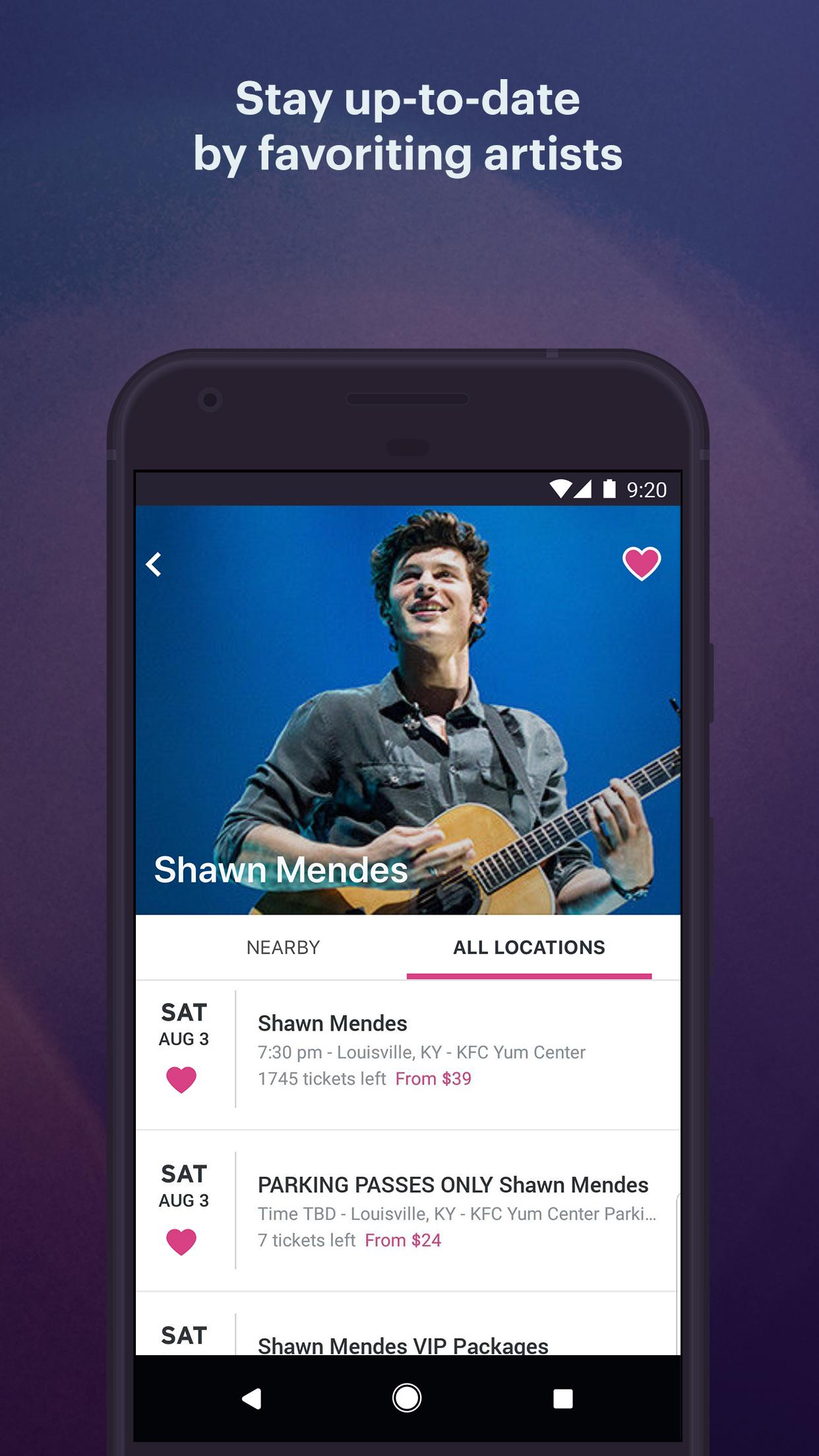 StubHub Live Event Tickets 8.2.0 Screenshot 5