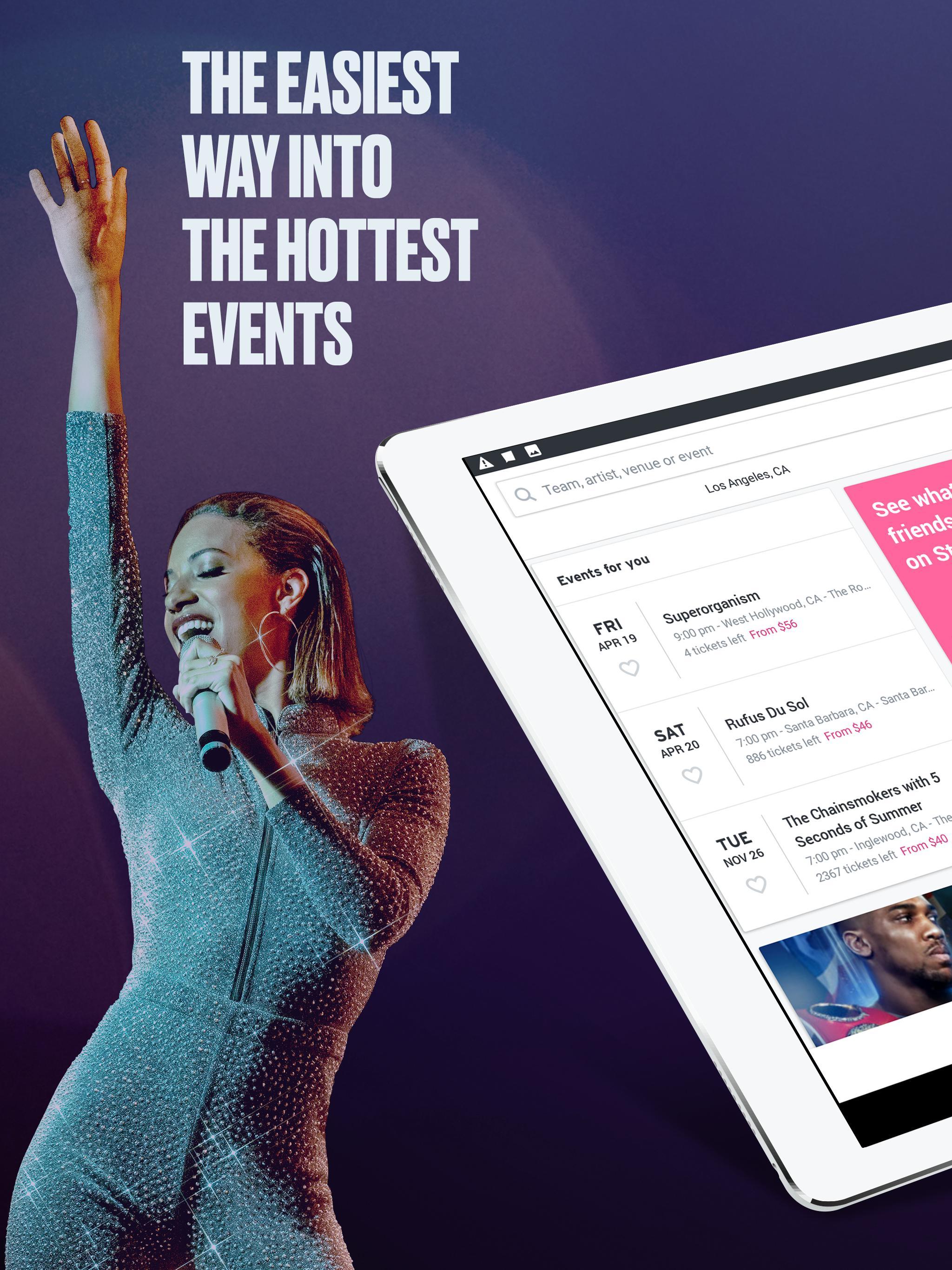 StubHub Live Event Tickets 8.2.0 Screenshot 8