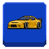 Pixel Car Racer app icon