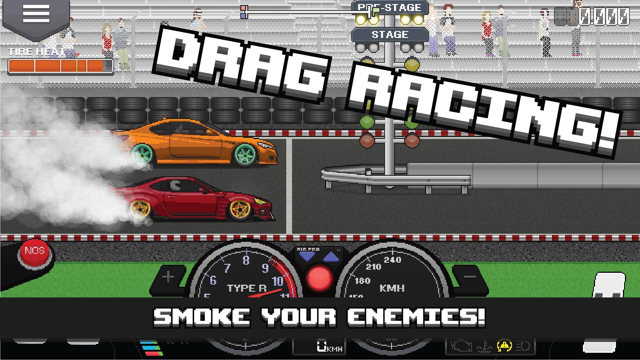 Pixel Car Racer 1.1.80 Screenshot 1