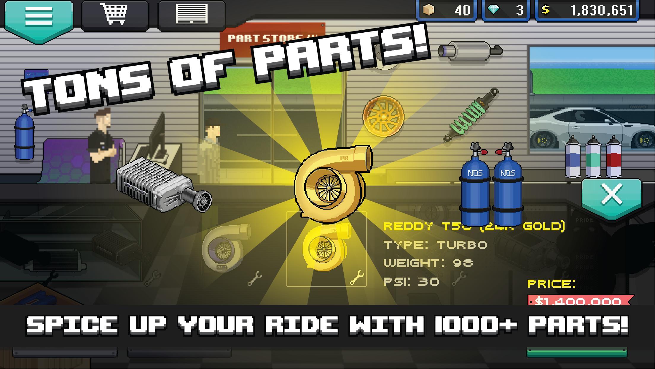 Pixel Car Racer 1.1.80 Screenshot 2