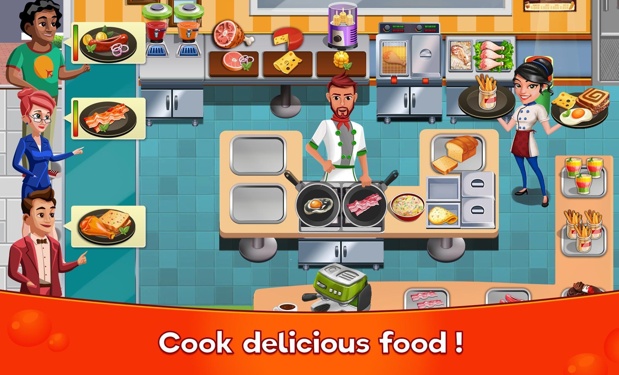 Cooking Cafe Restaurant Girls - Best Cooking Game 2.0.3 Screenshot 1