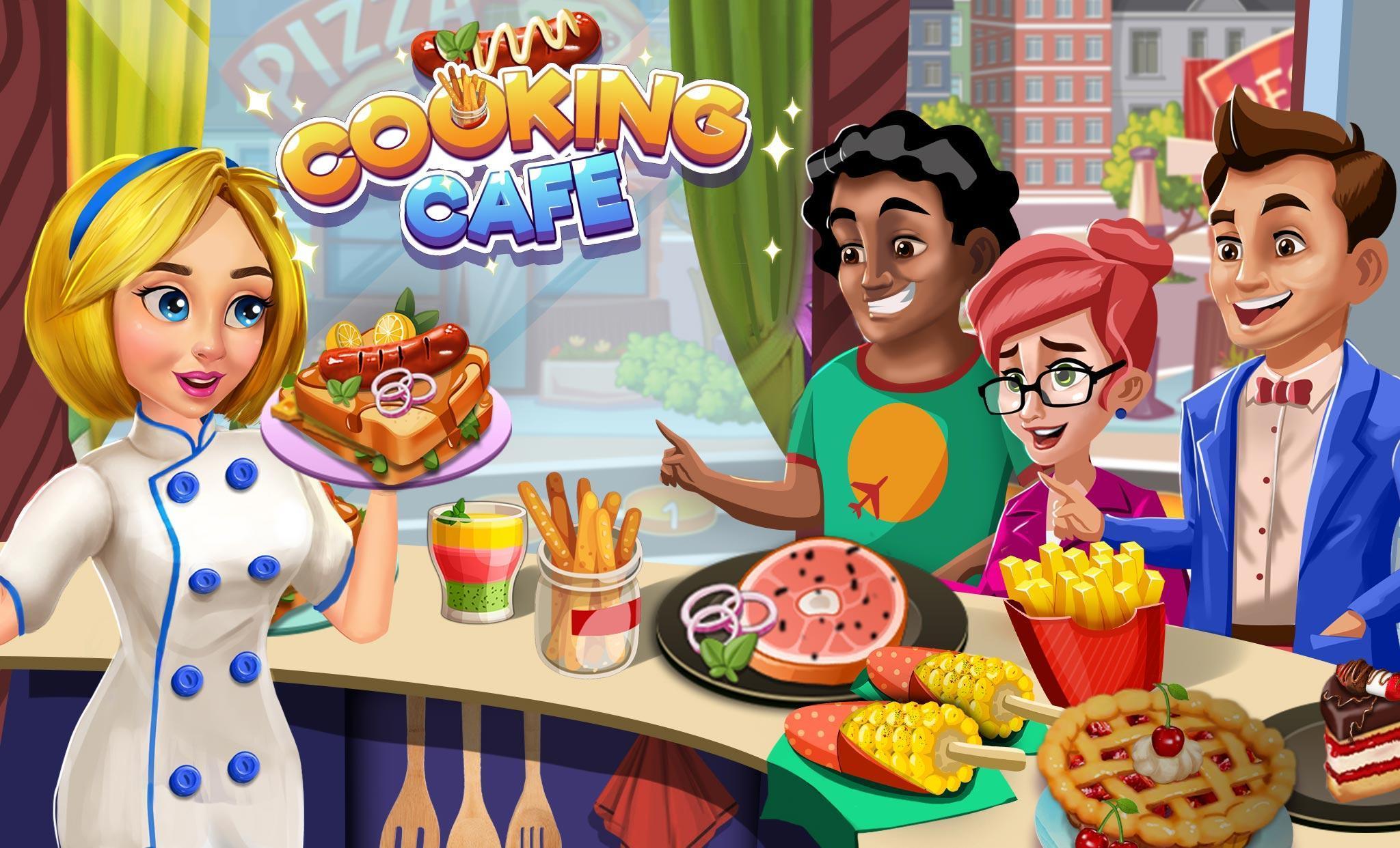 Cooking Cafe Restaurant Girls - Best Cooking Game 2.0.3 Screenshot 17