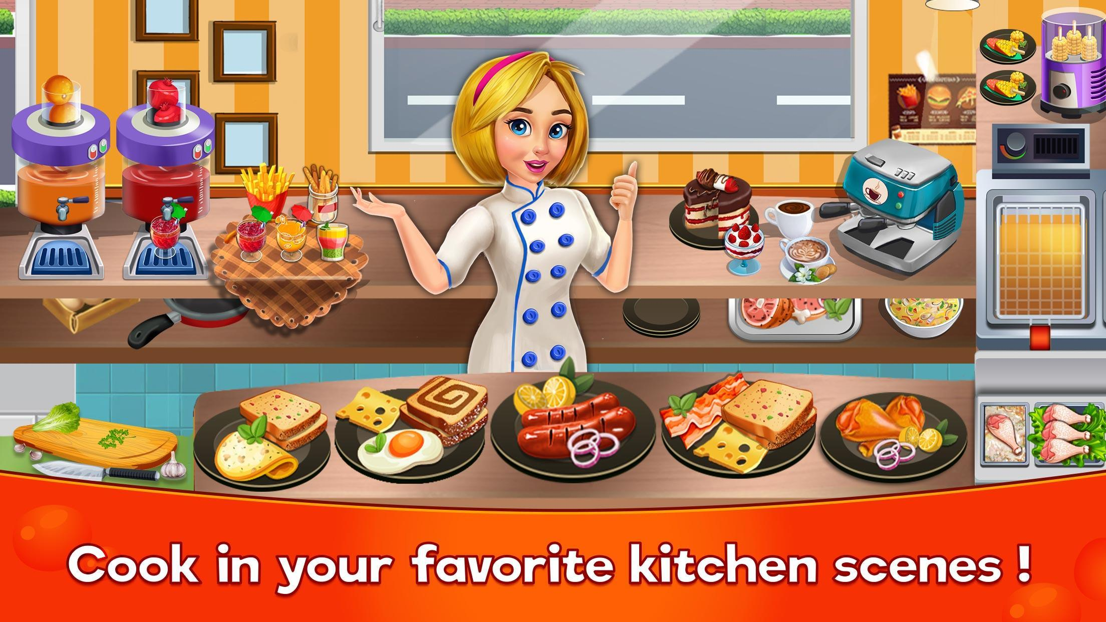 Cooking Cafe Restaurant Girls - Best Cooking Game 2.0.3 Screenshot 2