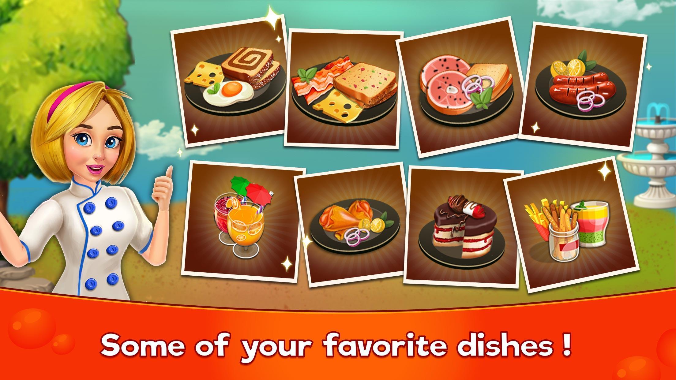 Cooking Cafe Restaurant Girls - Best Cooking Game 2.0.3 Screenshot 3