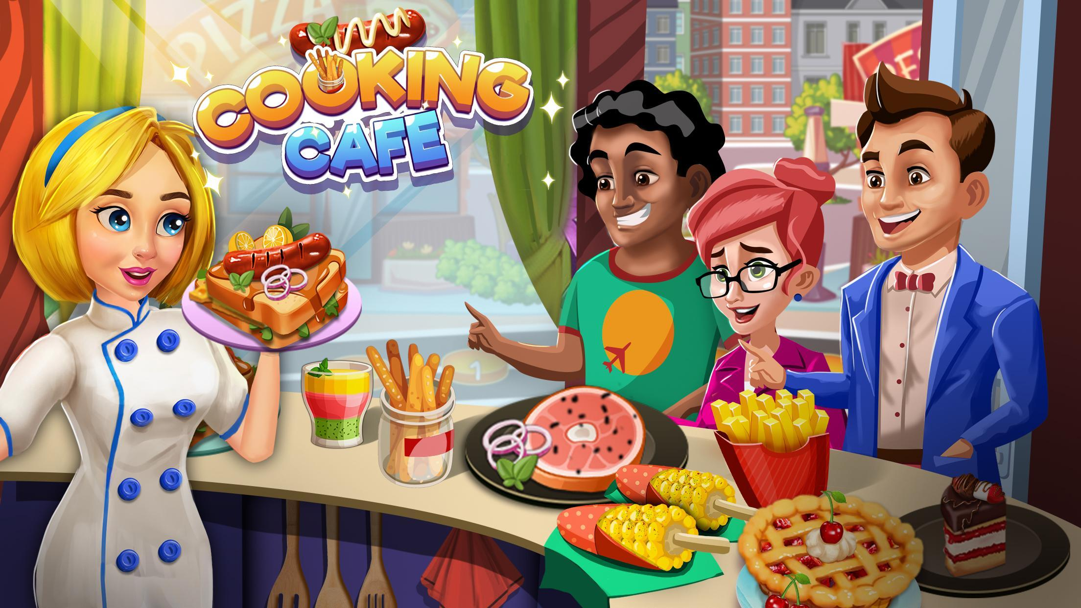 Cooking Cafe Restaurant Girls - Best Cooking Game 2.0.3 Screenshot 7