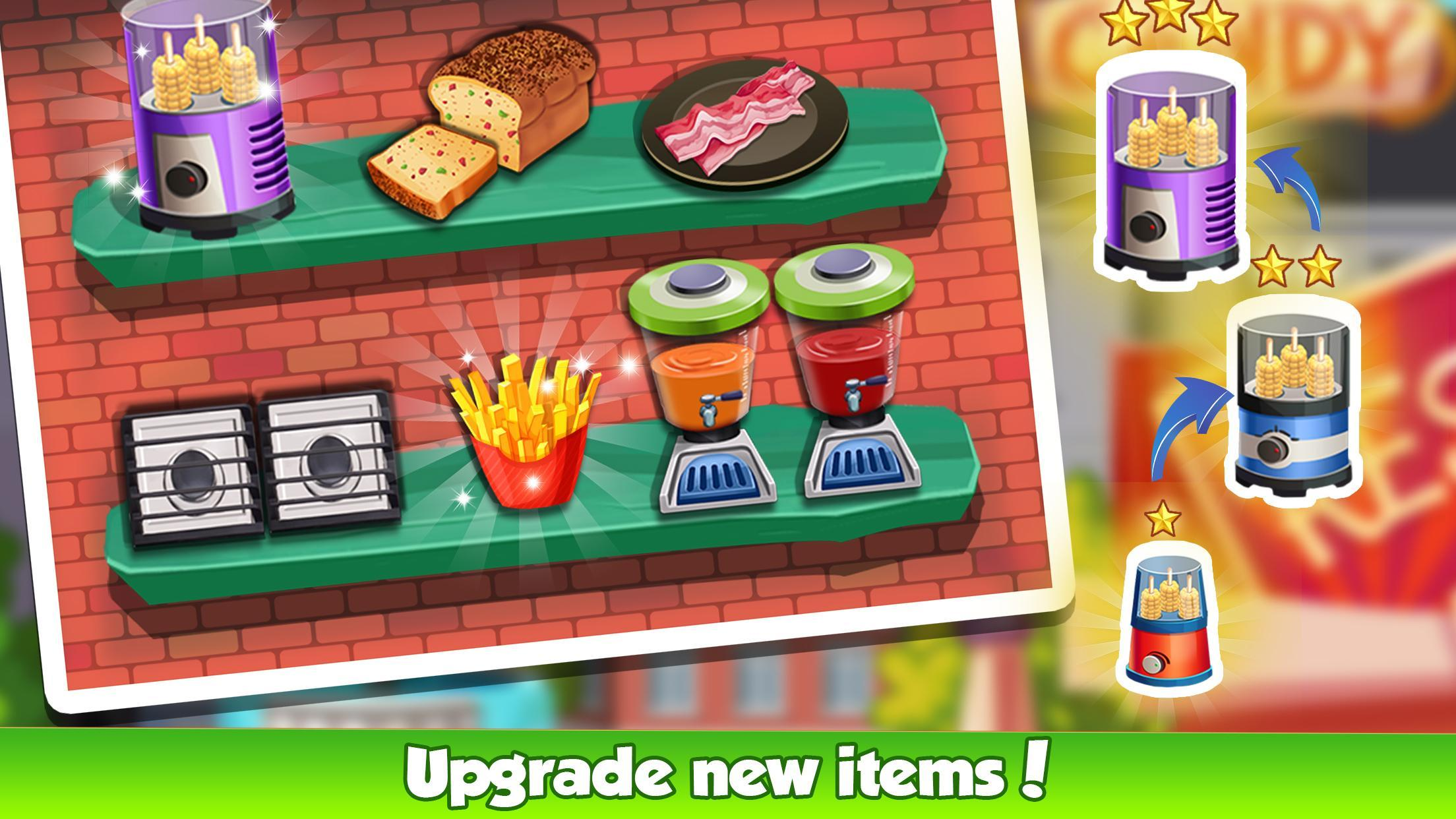 Cooking Cafe Restaurant Girls - Best Cooking Game 2.0.3 Screenshot 8