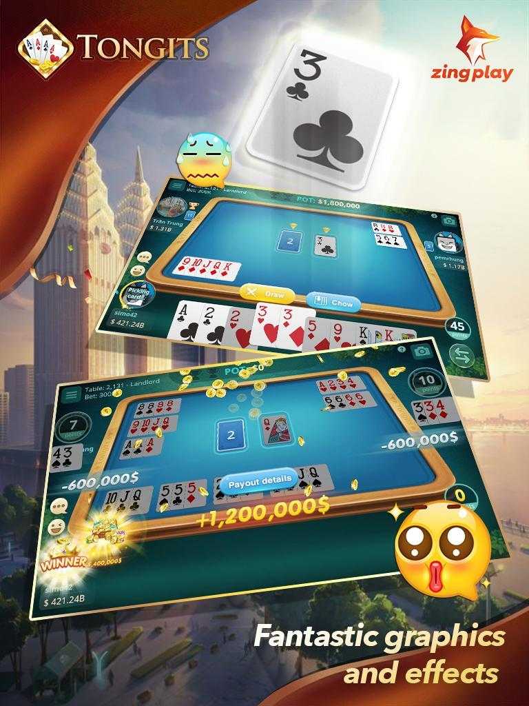 Tongits ZingPlay - Top 1 Free Card Game Online 2.3 Screenshot 2