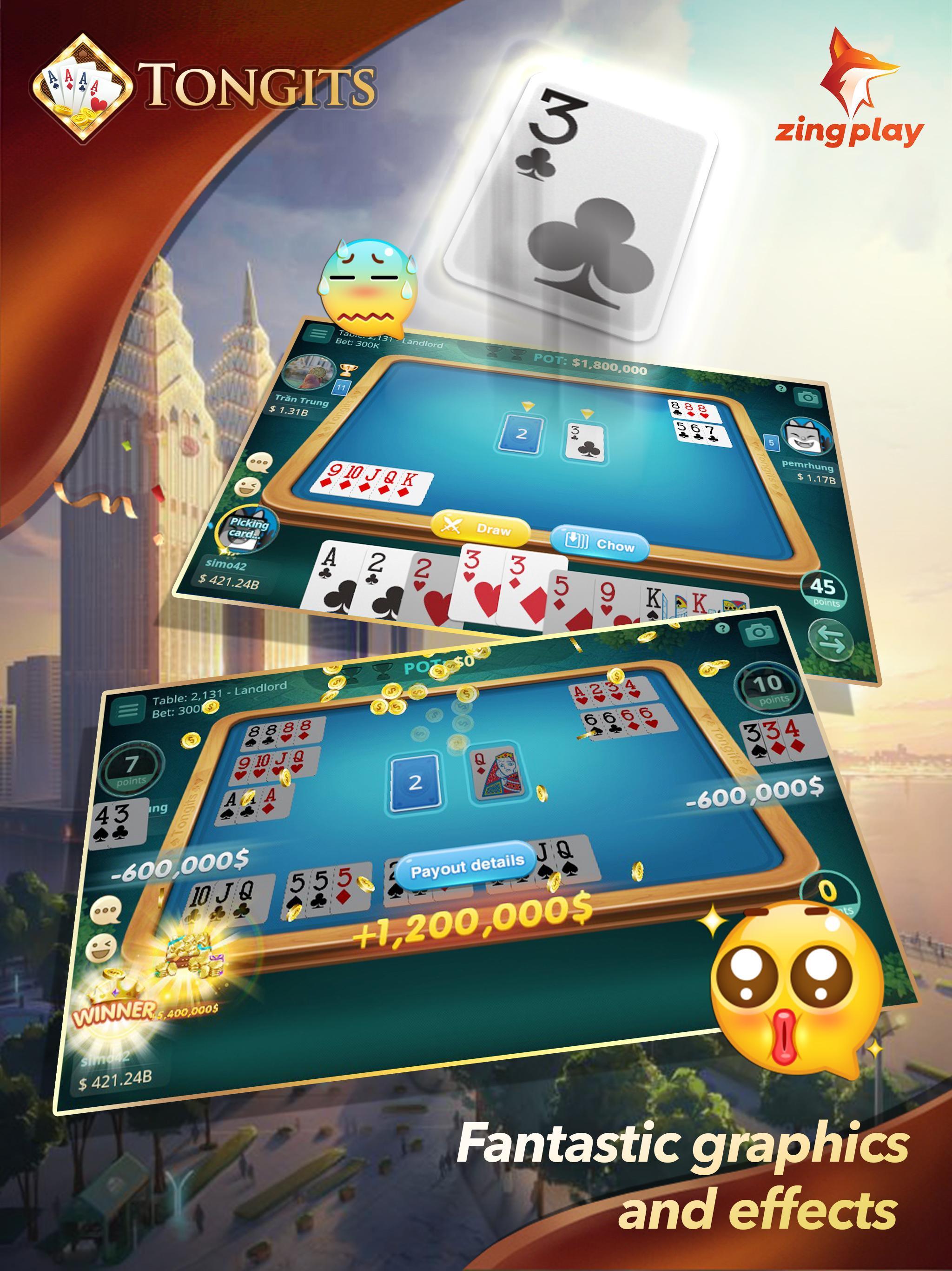 Tongits ZingPlay - Top 1 Free Card Game Online 2.3 Screenshot 7