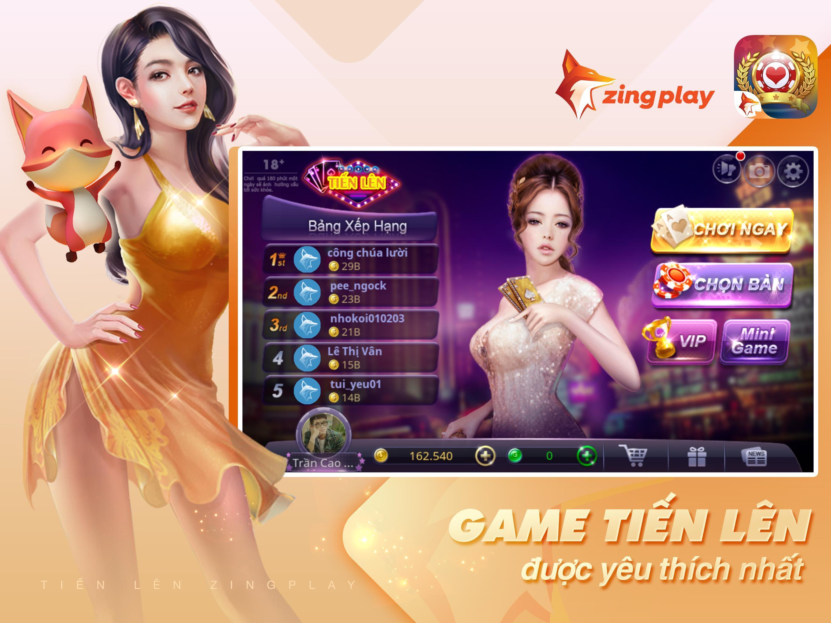 Tiến lên Miền Nam- Tiến Lên - tien len - ZingPlay 4.9 Screenshot 11