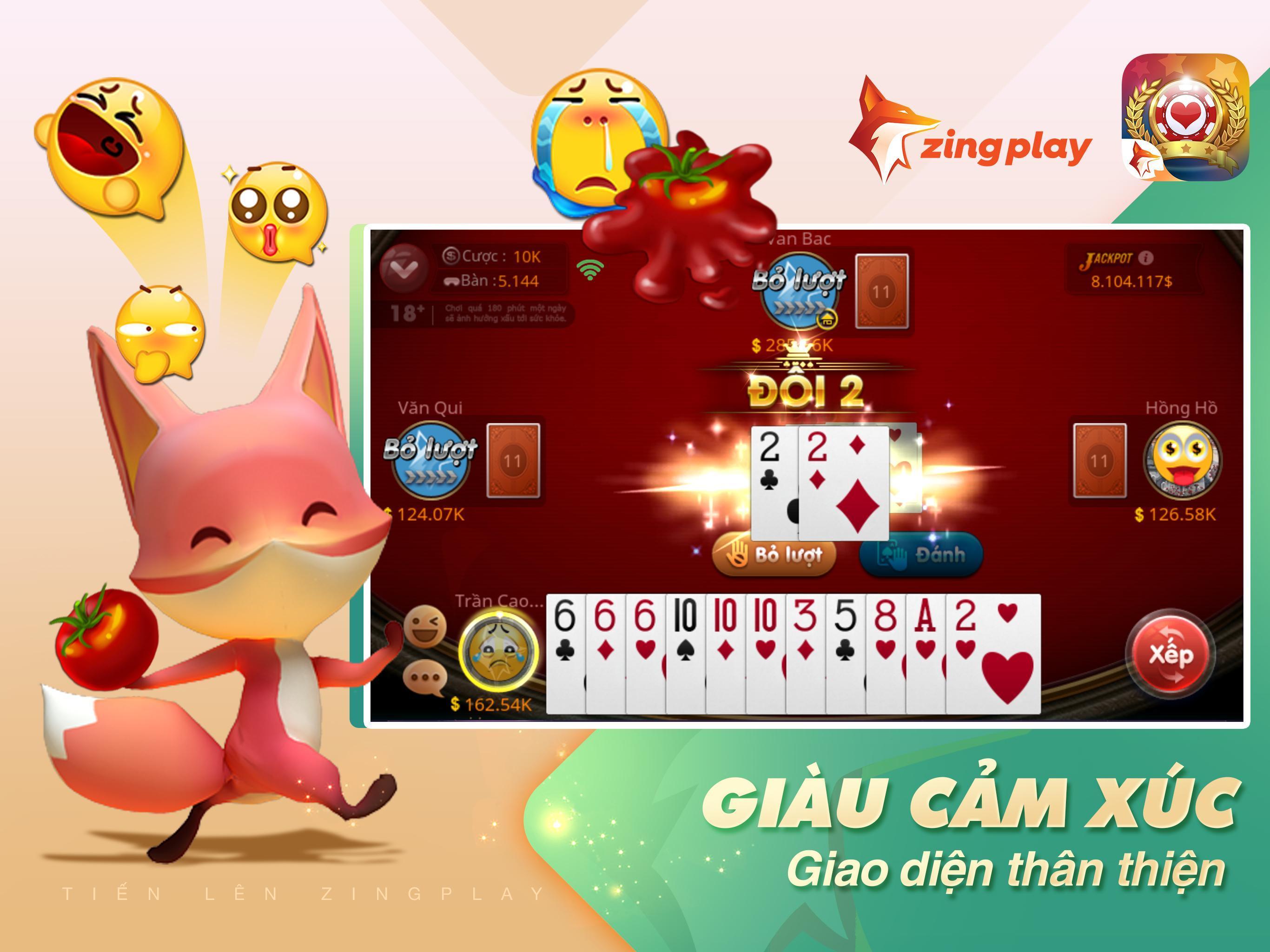 Tiến lên Miền Nam- Tiến Lên - tien len - ZingPlay 4.9 Screenshot 13