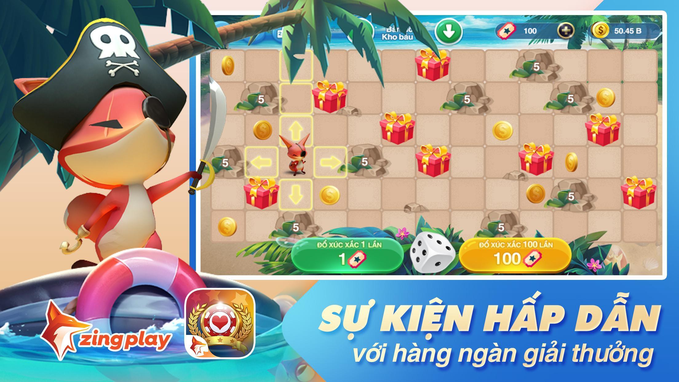 Tiến lên Miền Nam- Tiến Lên - tien len - ZingPlay 4.9 Screenshot 4