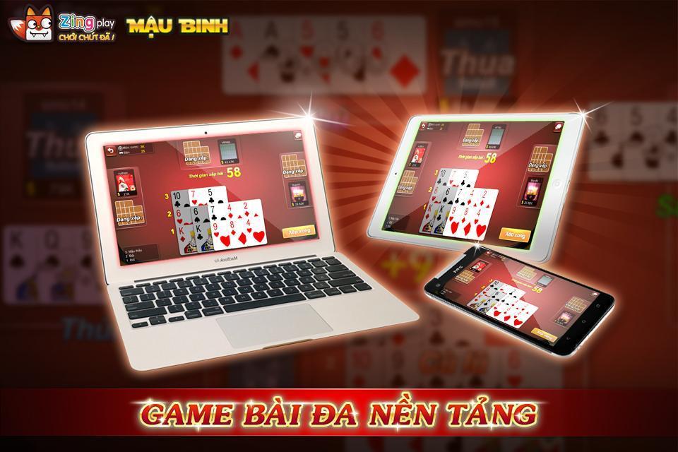 Poker VN Mậu Binh – Binh Xập Xám - ZingPlay 4.4 Screenshot 3