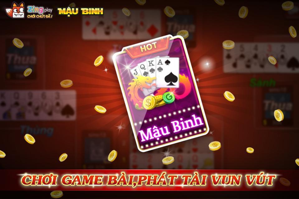 Poker VN Mậu Binh – Binh Xập Xám - ZingPlay 4.4 Screenshot 9