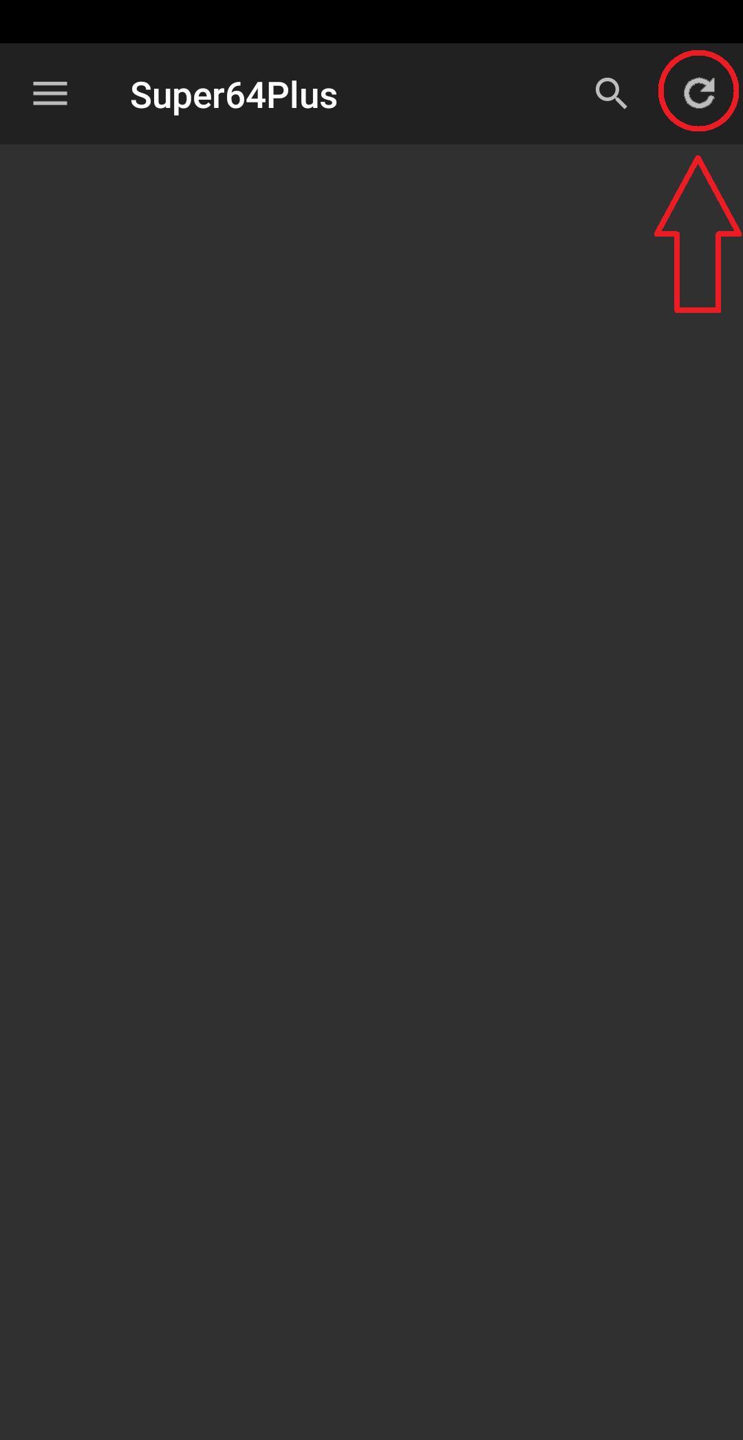 Super64Plus (N64 Emulator) 3.1.0 Screenshot 2