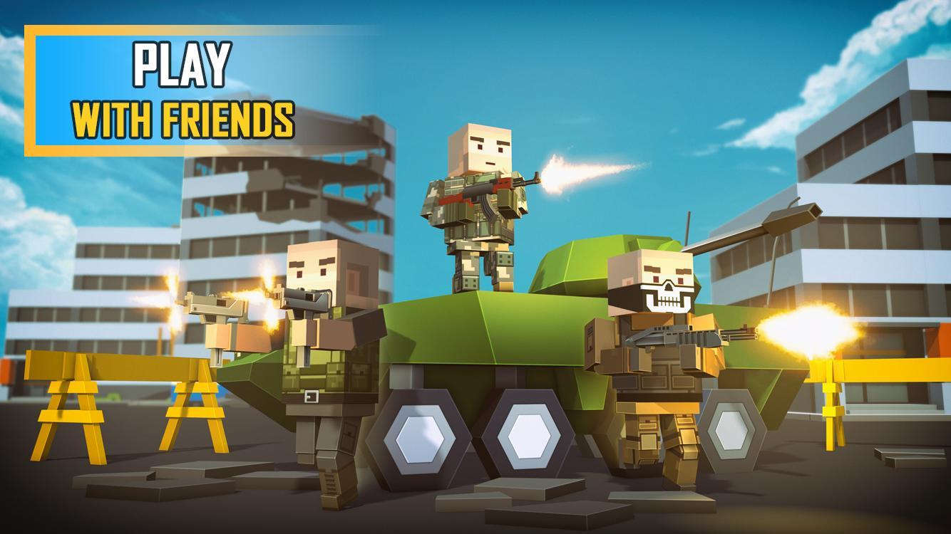 Pixel Grand Battle 3D 1.7.0 Screenshot 3