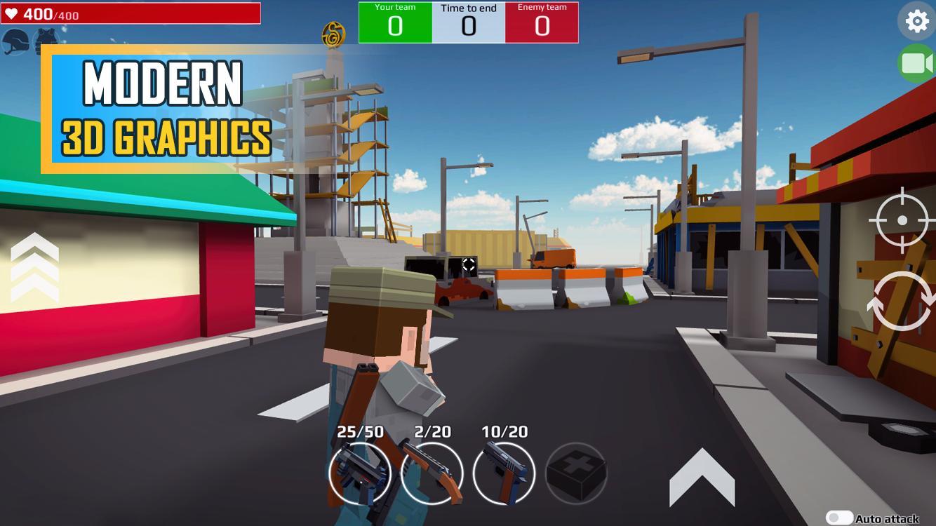 Pixel Grand Battle 3D 1.7.0 Screenshot 5