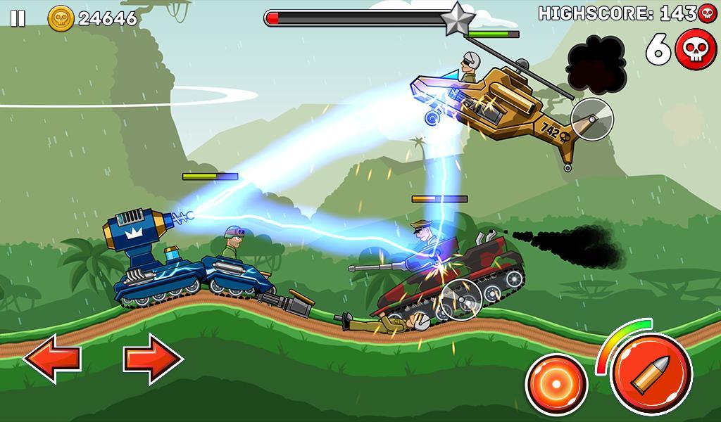 Hills of Steel 2.9.2 Screenshot 13