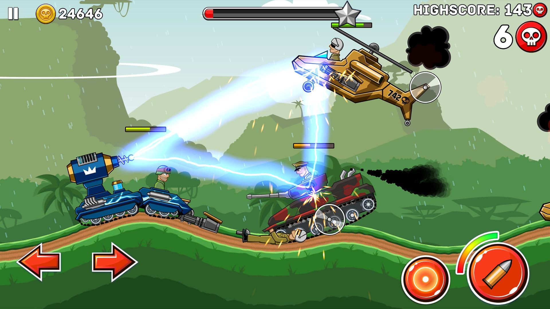 Hills of Steel 2.9.2 Screenshot 3