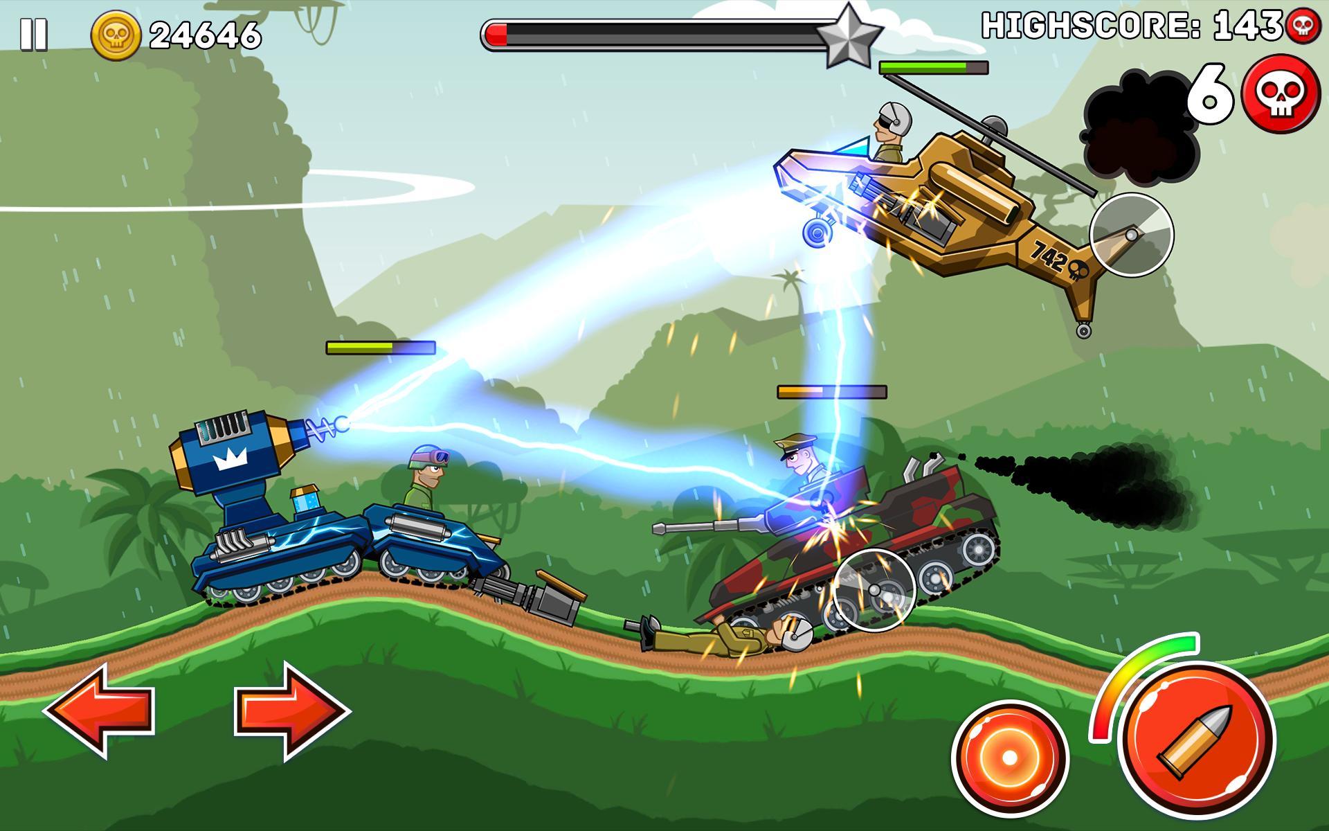 Hills of Steel 2.9.2 Screenshot 8