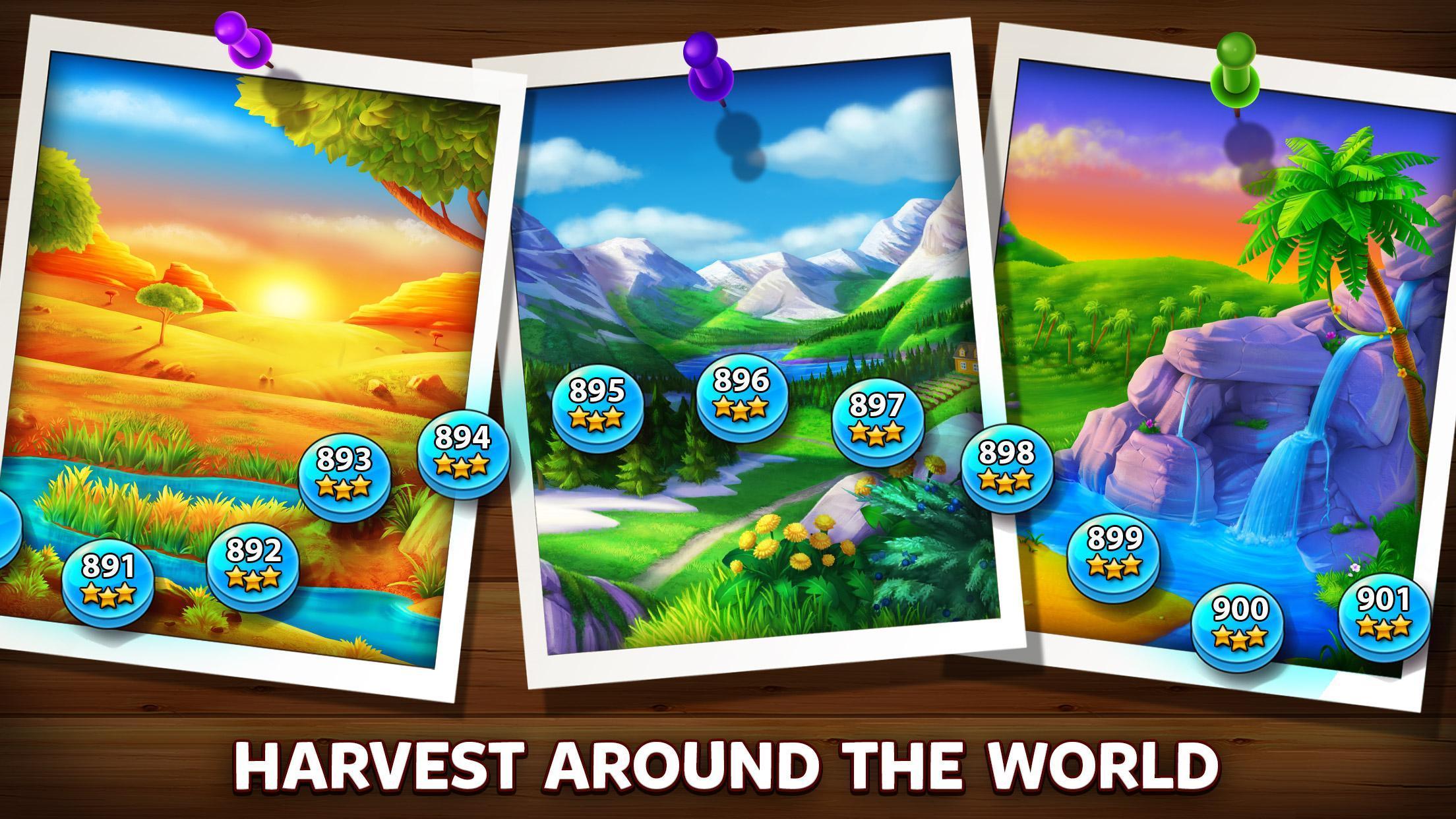 Solitaire Grand Harvest - Tripeaks 1.67.0 Screenshot 4