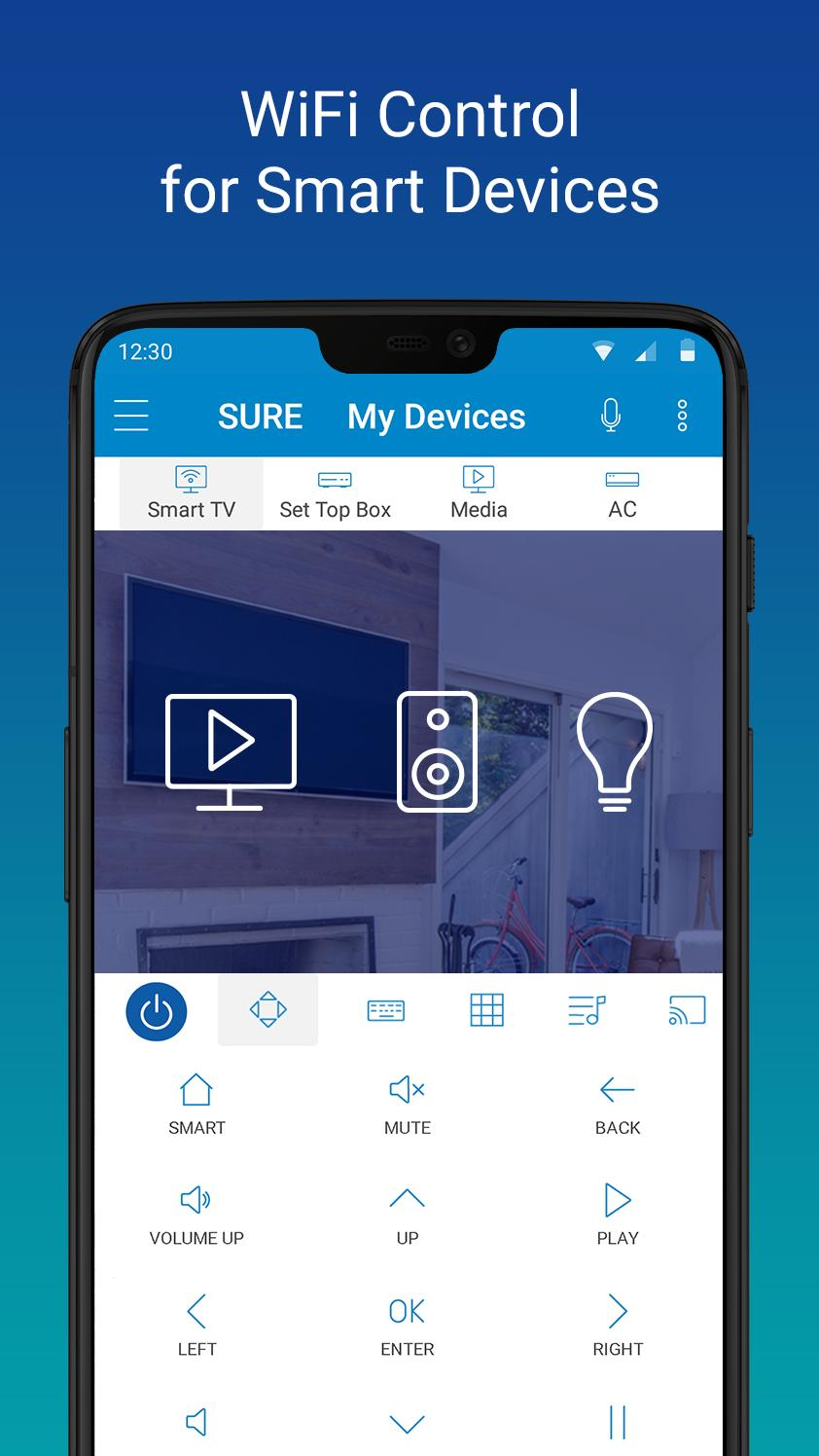 SURE Smart Home and TV Universal Remote 4.24.129.20200311 Screenshot 2