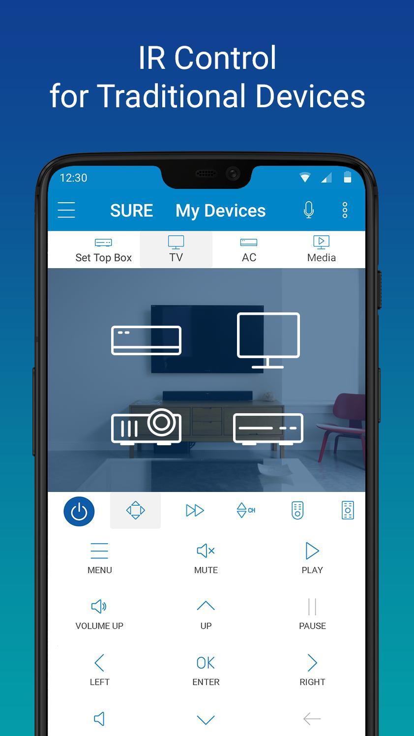 SURE Smart Home and TV Universal Remote 4.24.129.20200311 Screenshot 6