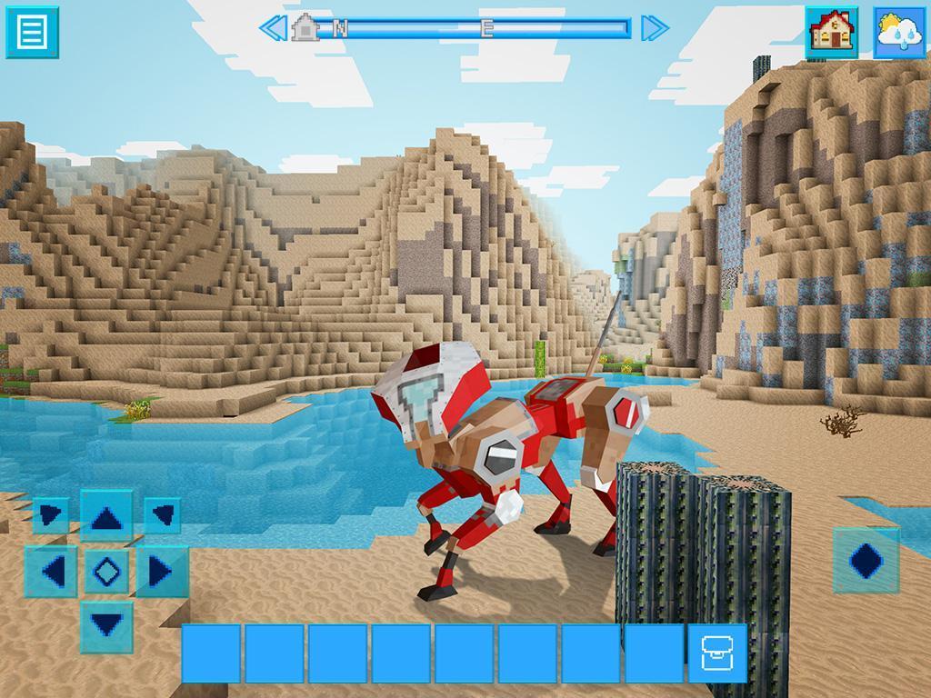 RoboCraft Building & Survival Craft - Robot World 5.0.5 Screenshot 1
