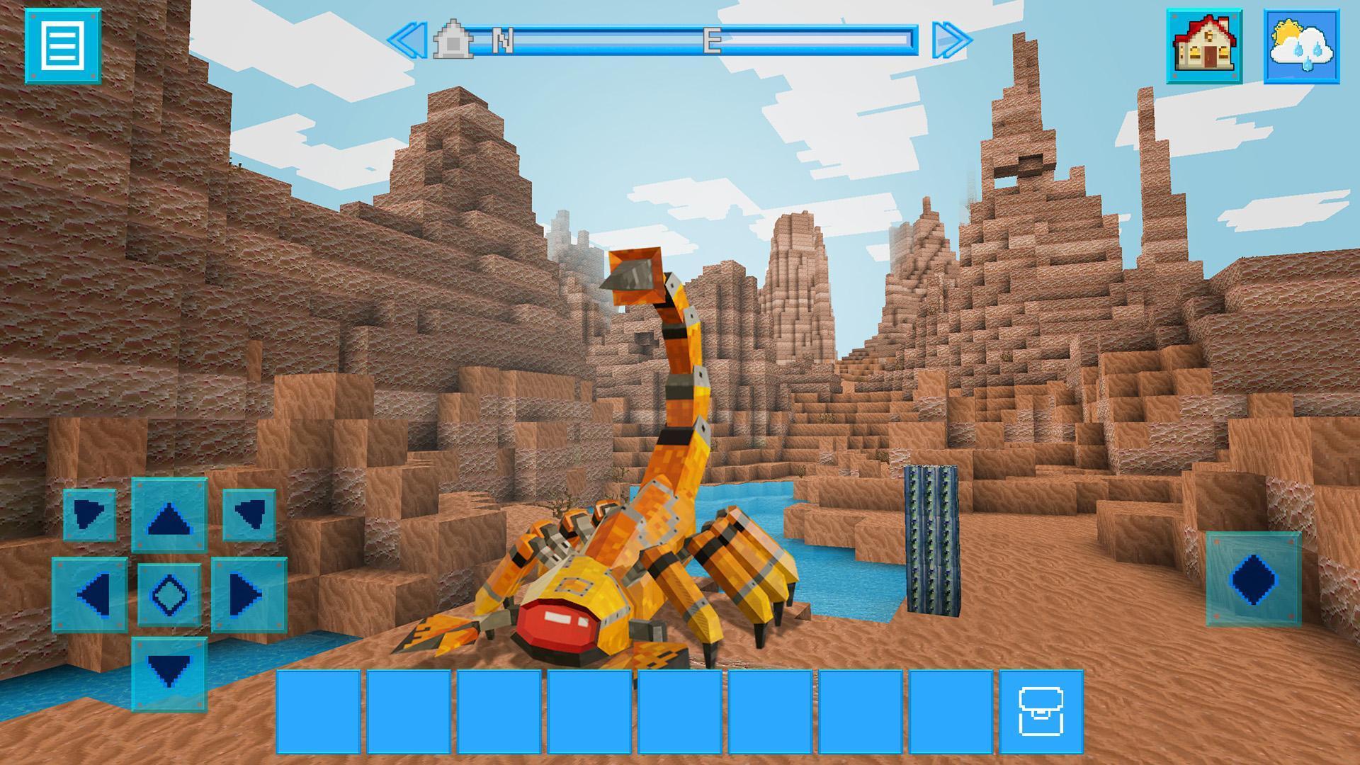 RoboCraft Building & Survival Craft - Robot World 5.0.5 Screenshot 10