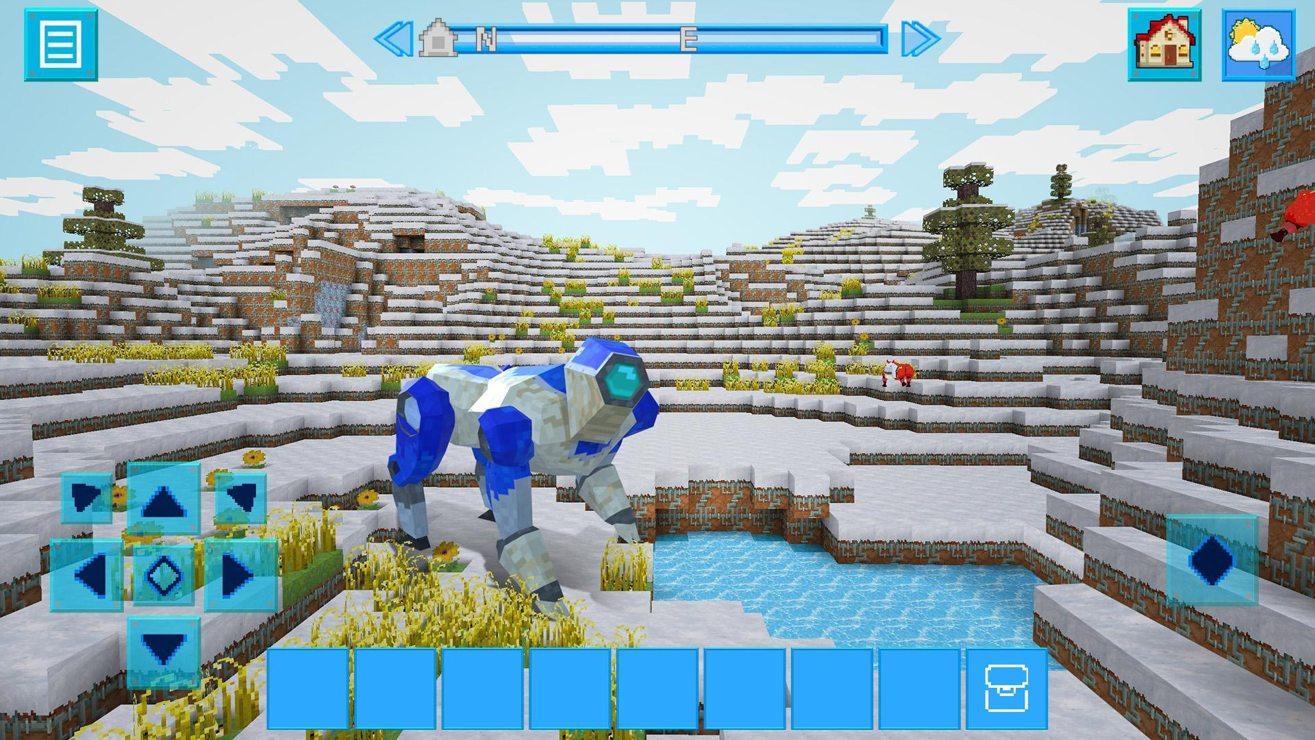 RoboCraft Building & Survival Craft - Robot World 5.0.5 Screenshot 14