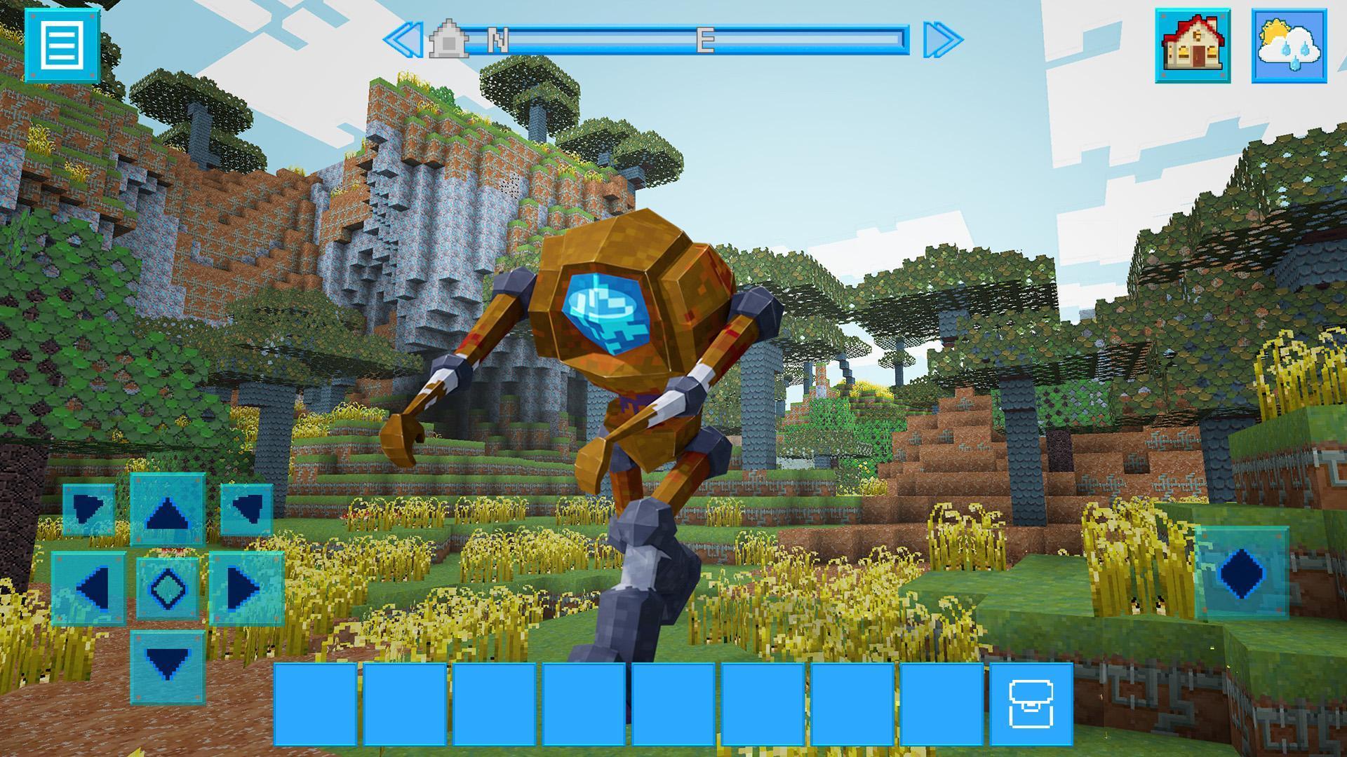 RoboCraft Building & Survival Craft - Robot World 5.0.5 Screenshot 15
