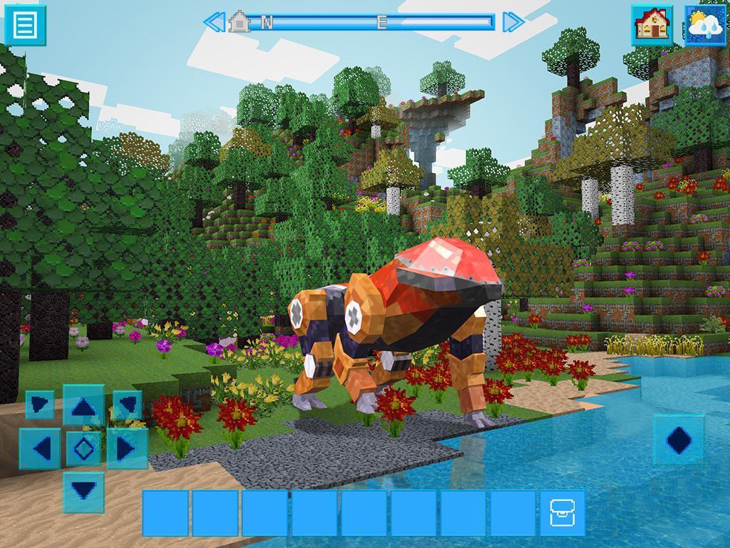 RoboCraft Building & Survival Craft - Robot World 5.0.5 Screenshot 19