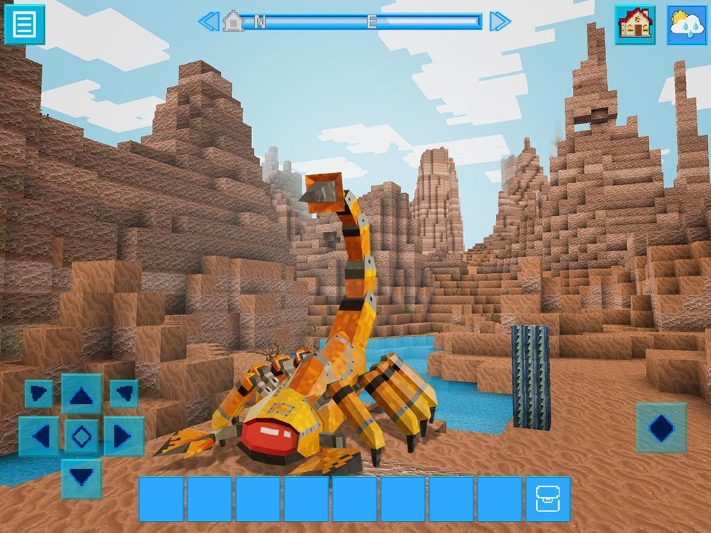 RoboCraft Building & Survival Craft - Robot World 5.0.5 Screenshot 2