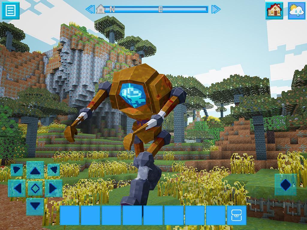 RoboCraft Building & Survival Craft - Robot World 5.0.5 Screenshot 23