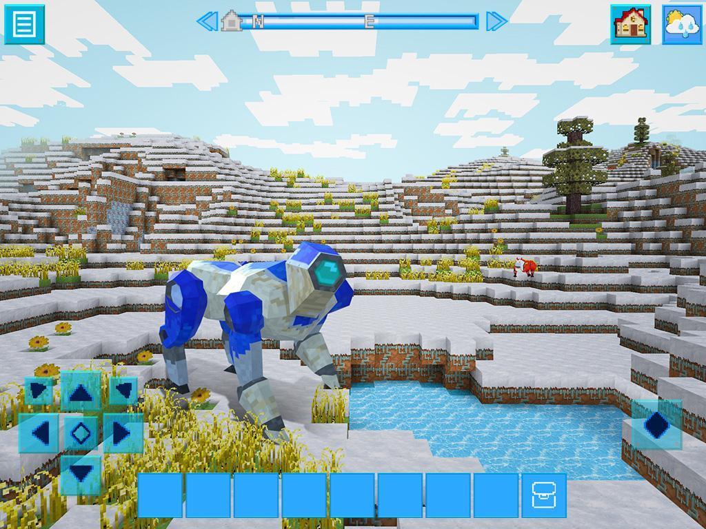 RoboCraft Building & Survival Craft - Robot World 5.0.5 Screenshot 6