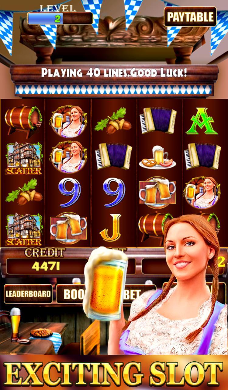 Bierfest Free Slots Machine 2.1 Screenshot 1