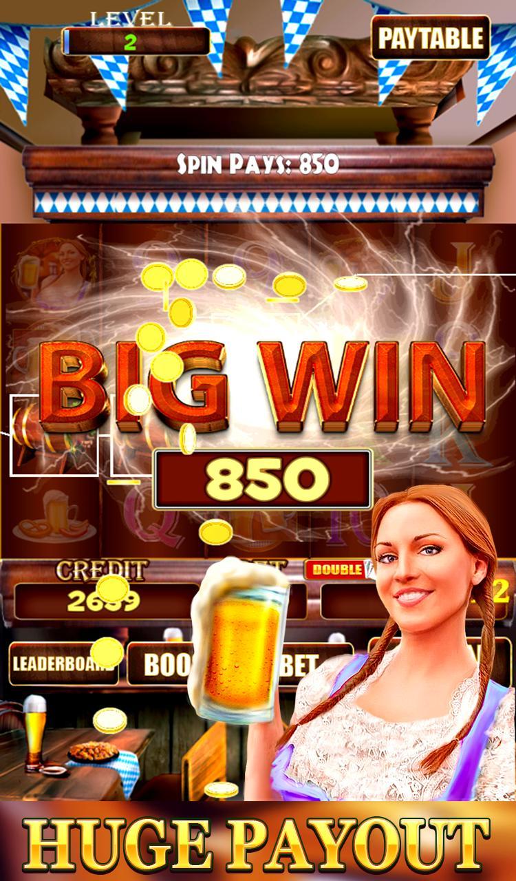 Bierfest Free Slots Machine 2.1 Screenshot 4