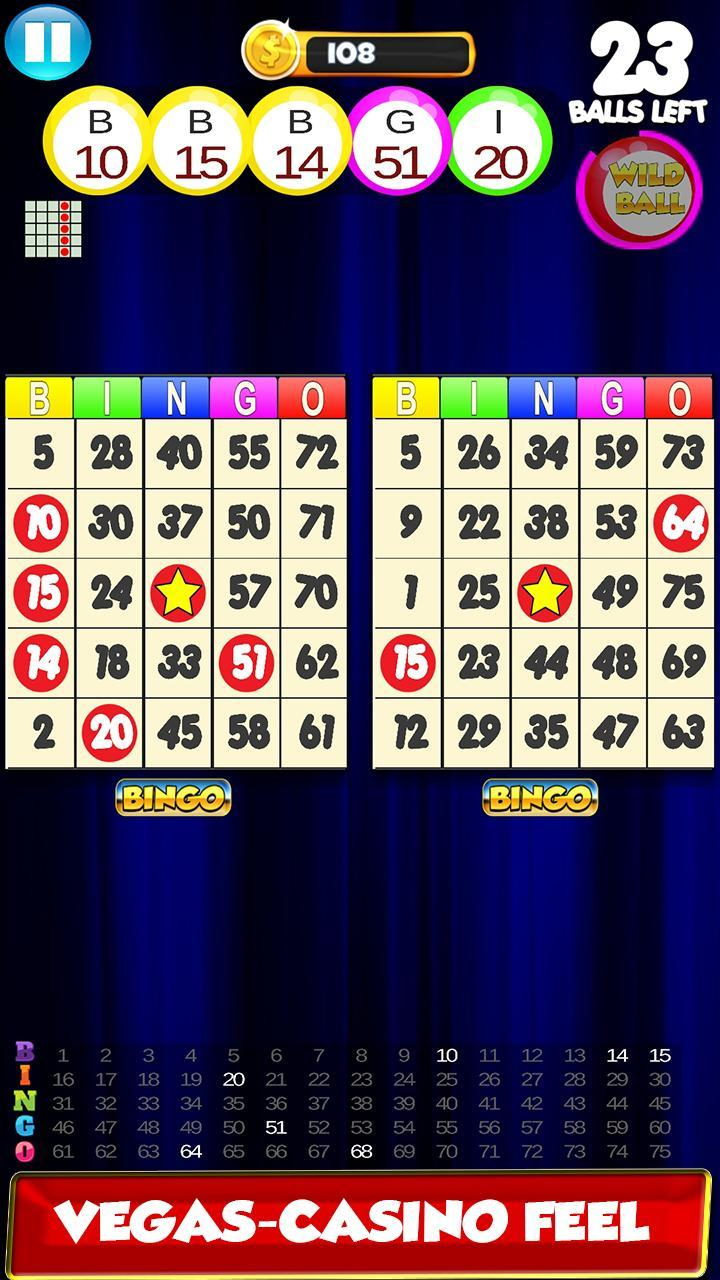 Bingo: New Free Cards Game Vegas and Casino Feel 2.1 Screenshot 5