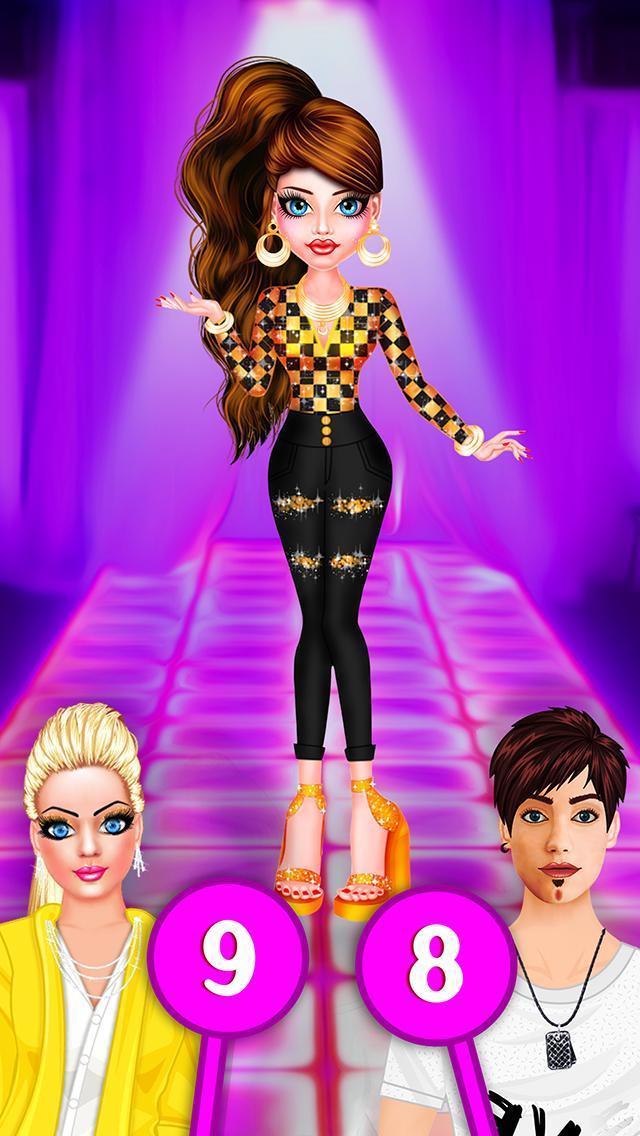 BFF Dolls : Beauty Contest Fashion Salon makeover 2.1 Screenshot 14