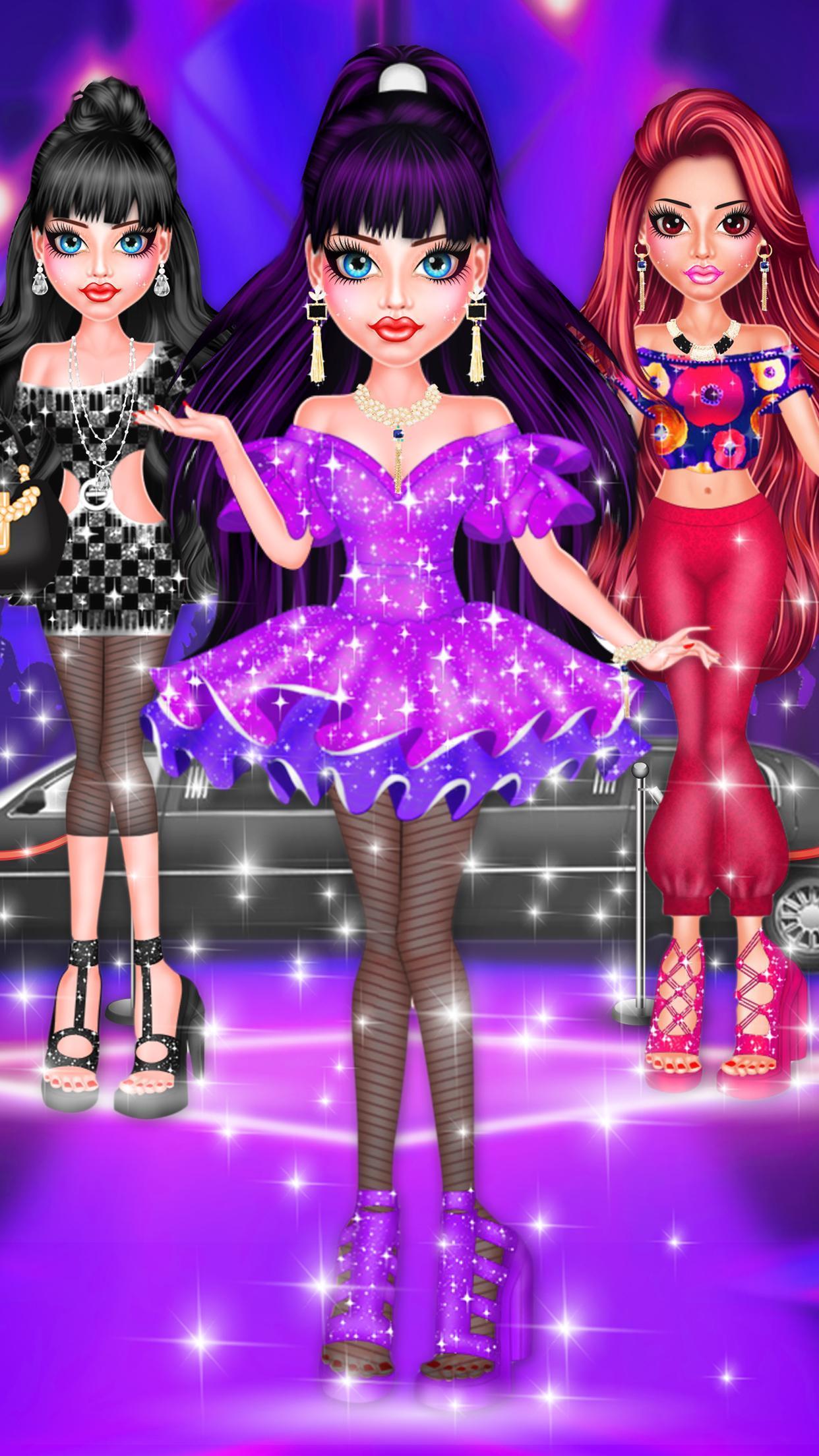 BFF Dolls : Beauty Contest Fashion Salon makeover 2.1 Screenshot 5