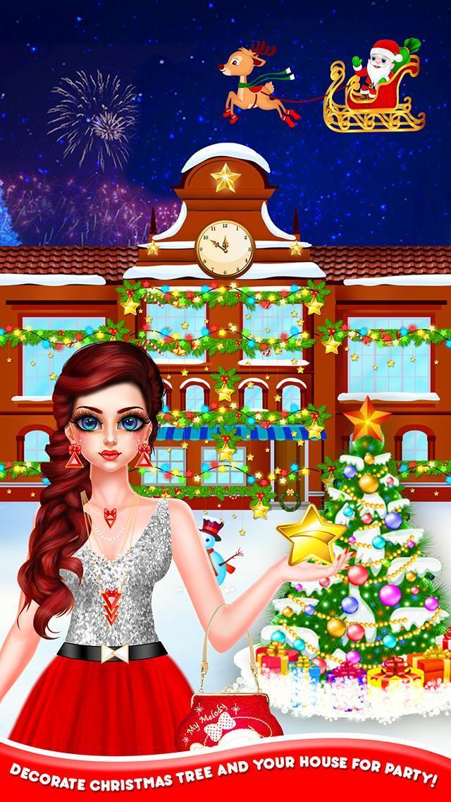Christmas Night Celebration Girl Spa & Decor Game 2.2 Screenshot 12